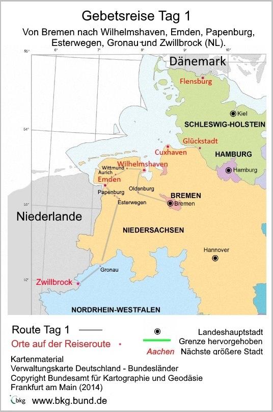 karte gebetsreise-tag1